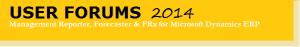 Forecaster, FRx, Management Reporter 2014