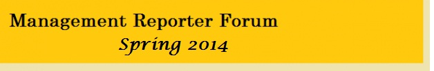 2014 Microsoft Management Reporter Forum Spring